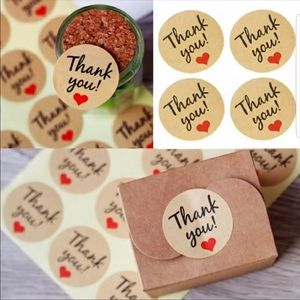 Other - Thank you stickers